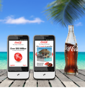 The mobile marketing company for Coca-Cola