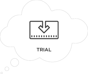 Marketing to convert during customer trials